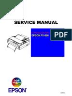 Epson FX-880 Service Manual