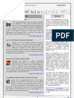 India Transport Portal Newsletter - January, 2013