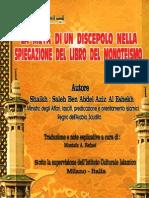 Sul Monoteismo Islamico. La Fede Dell'Islam