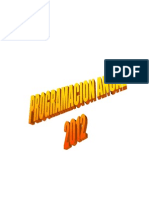 Progra Anual 2012