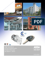 ASSA March 2013 Price Book