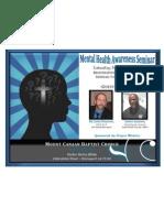 Mental Health Seminar  2013
