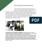 QUE ANIMALES SON UTILIZADOS EN LOS EXPERIMENTOS PSICOLOGIA.docx