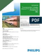 Medidas Fluorescentes Philips T5