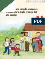 Guía para la escuela acogedora - MINEDU
