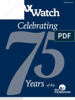 Tax Watch, Winter 2013