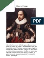 Shakespeare y El Paso Del Tiempo