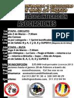 3. CLASICA INTEGRACION ASOCIACIONES 2013