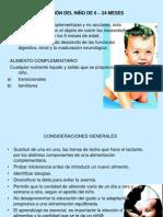 ALIMENTACIÓN DEL NIÑO DE 6 – 24 MESES.ppt