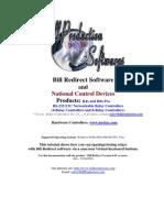 Bill Redirect NCD R4x R8x Relays