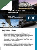 Civil3d 2008 API