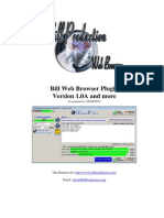 Bill Web Browser Plugin