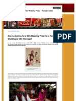 Are you looking for a Sikh Wedding Priest for a Punjabi Wedding or Sikh Marriage?