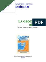 B. Tidwell - Carlos C. Pierson - La Geografía Bíblica