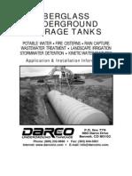 Fiberglass Tank Installation Manual
