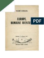 Europe Humaine Aventure a Karquel