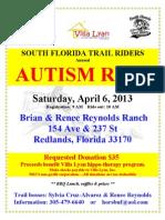 Autism Ride 2013