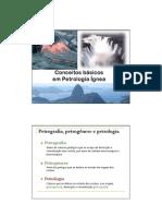Conceitos básicos em Petrologia Ígnea