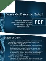 Bases de Datos de Salud