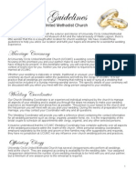 Wedding Guidelines for University Circle United Methodist Church