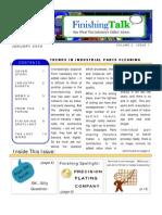 Finishing Talk Newsletter - January 2009