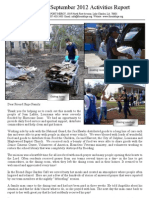 Friend Ships Activities Report for September  2012