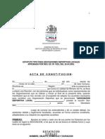 G.-organizaciones2010 Estatuto Asociaciones Deportivas Locales