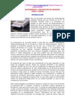 Manual de Mantenimiento y reparación de unidades