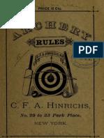 Archery Rules 00 Hi Nr