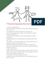 77 Decisões Importantes Para Seu Casamento.docx