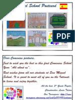 San Miguel School Postcard
