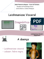 (2) Leishmaniose Visceral - Diagnóstico