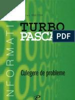 Turbo Pascal. Culegere de Probleme