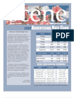 2009 Scene Ad Rate Card