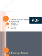 Online Market Research Platform
