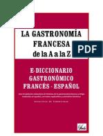Extrait La Gastronomia Francesa