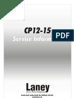 Laney CP12-15 Service Information