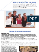 Tema 3 Psicologia B - Relações indivíduos grupos