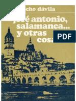 José Antonio, Salamanca... y otras cosas