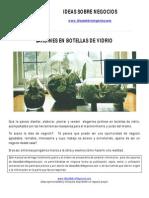 Manual Crear Jardines en Botellas de Vidrio