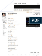 Cifra Club _ Deus de Promessas - Toque No Altar