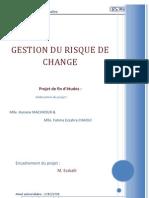 Gestion Du Risque de Change Machkour Hanane Chaoui Fatimaezzahra