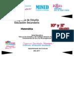 Programa Matematica10moy11mo