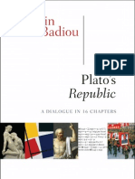 Plato's Republic, by Alain Badiou