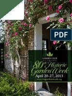 80th Historic Garden Week In Virginia Guidebook