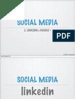 Social, Google e Linkedin