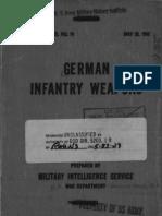 German Infantry Weapons