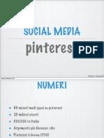 Social, Pinterest Instagram Foursquare