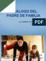 DECÁLOGO DELPADRE DE FAMILIA