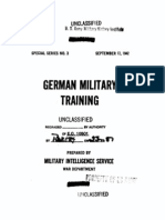 German Military Training